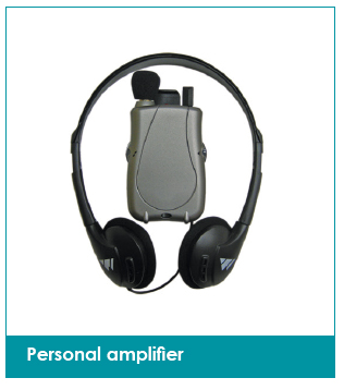 Personal amplifier