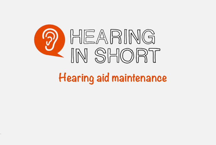 Hearing aid maintenance
