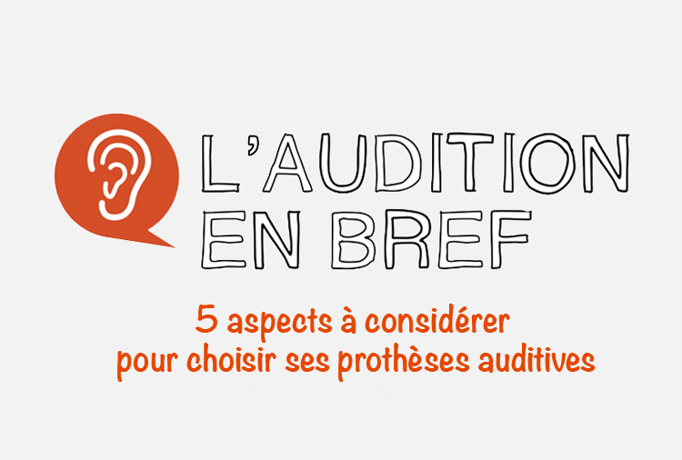 5 aspects à considérer prothèses auditives