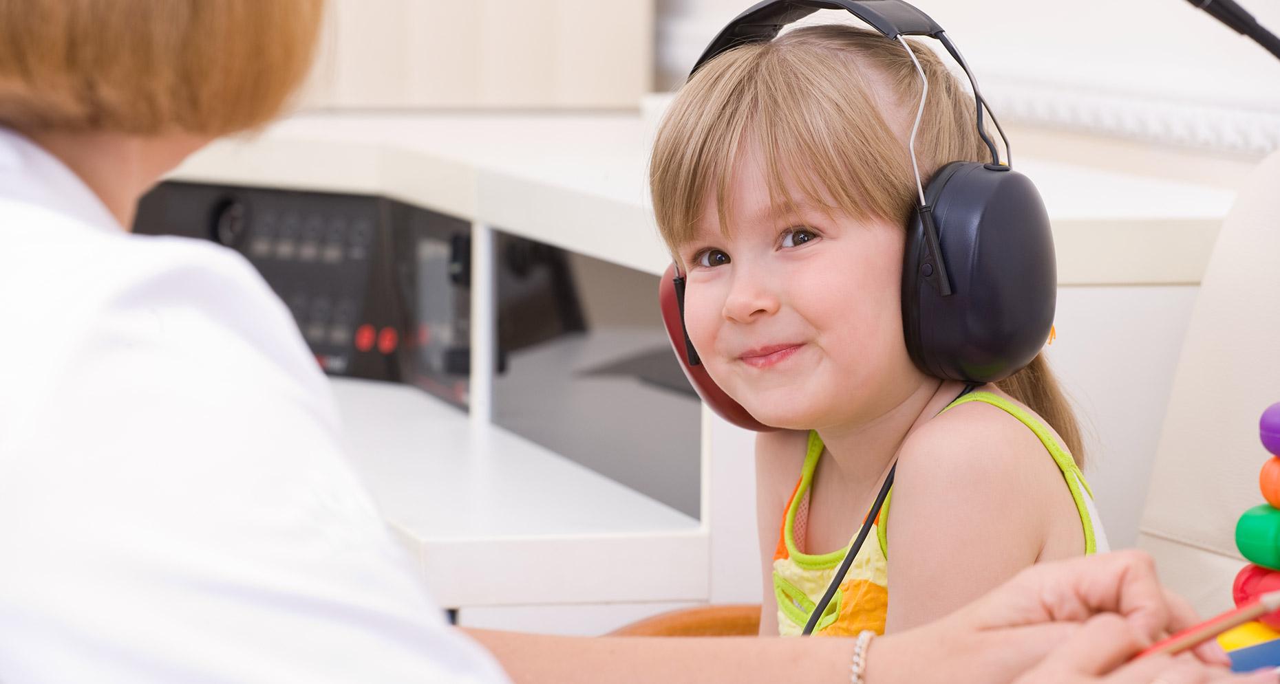 Test auditif chez l'enfant