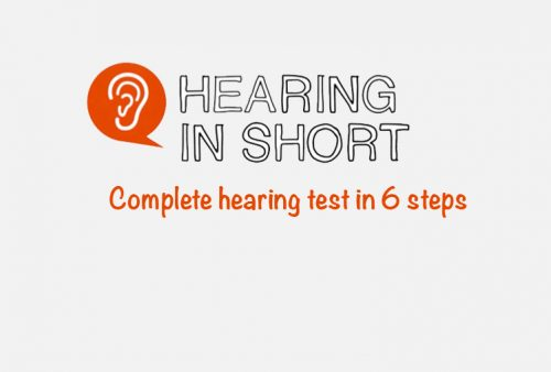 Complete hearing test in 6 steps