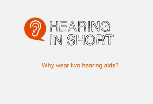 Why two hearing aids?