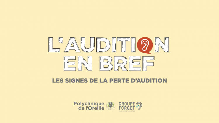 Signes perte auditive